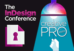 The InDesign Conference logo.